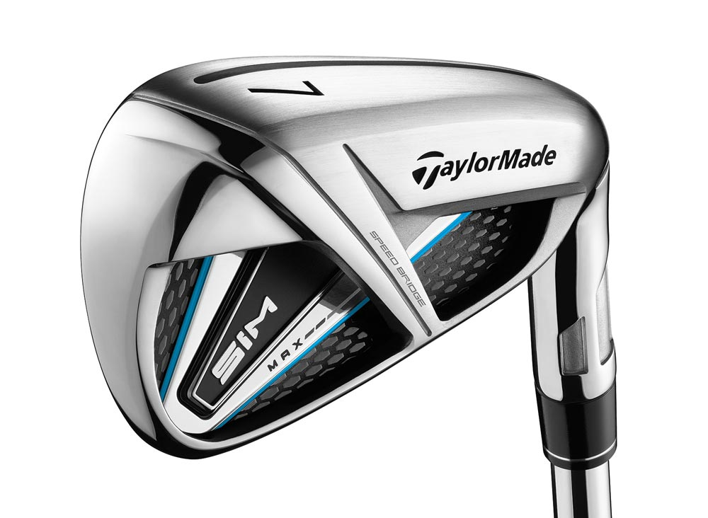 Alternate view of the TaylorMade SIM Max iron.