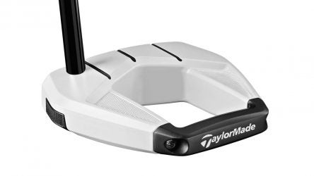 TaylorMade Spider S putter (chalk color).