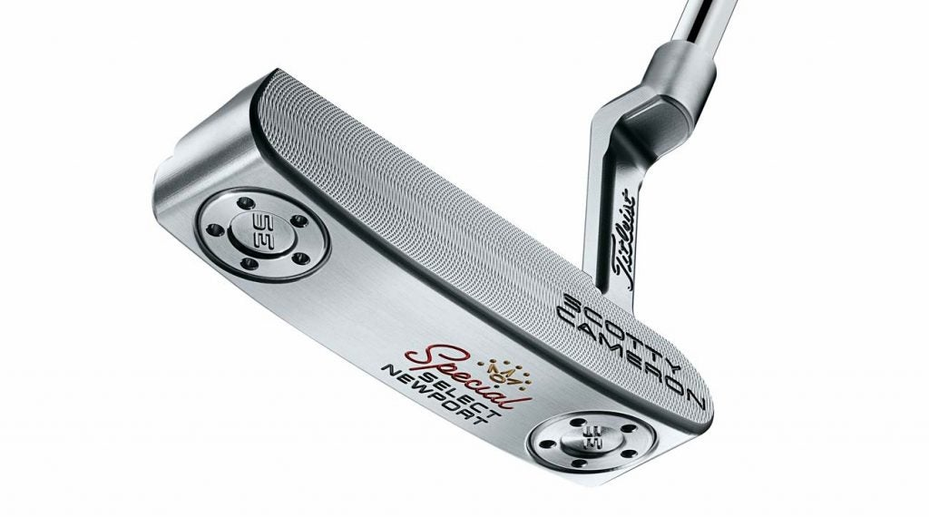 Titleist Scotty Cameron Special Select Newport putter.
