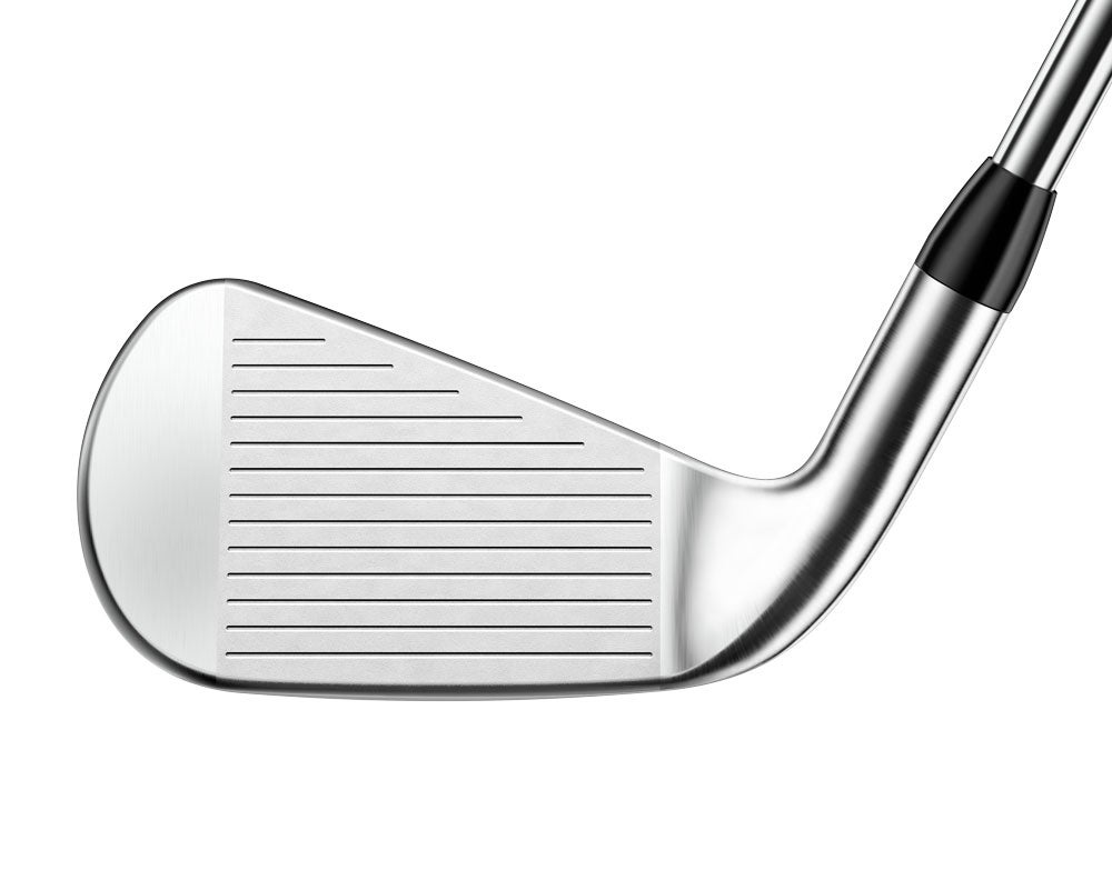 The face of the Titleist T300 iron.