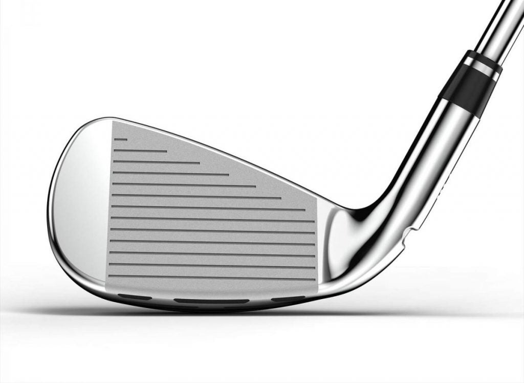 The face of the Wilson D7 iron.