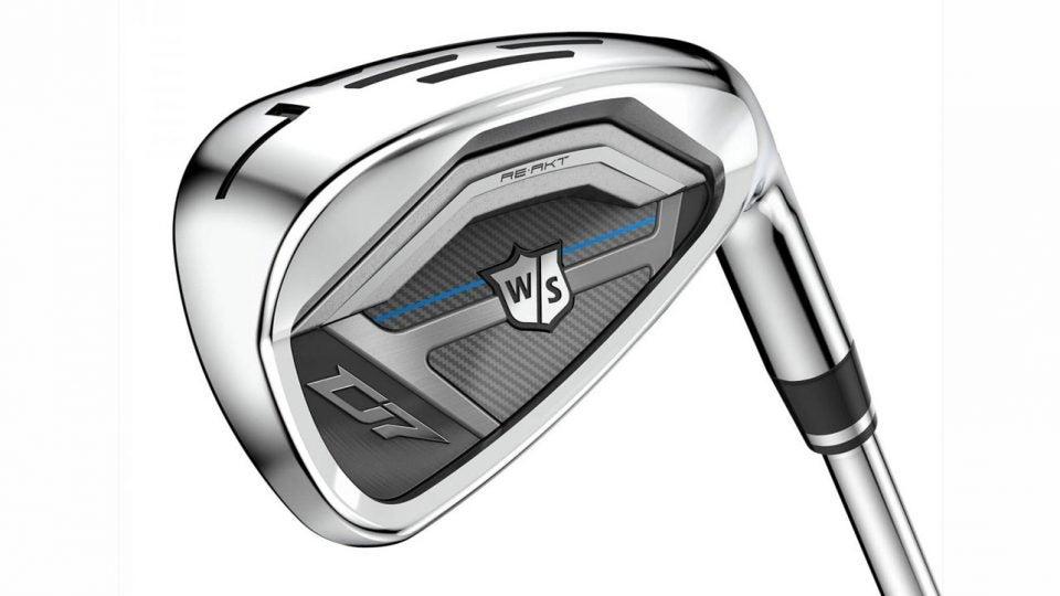 Wilson D7 irons.
