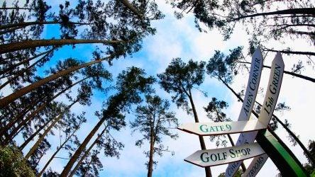 Augusta National signs johnny pruitt amen corner