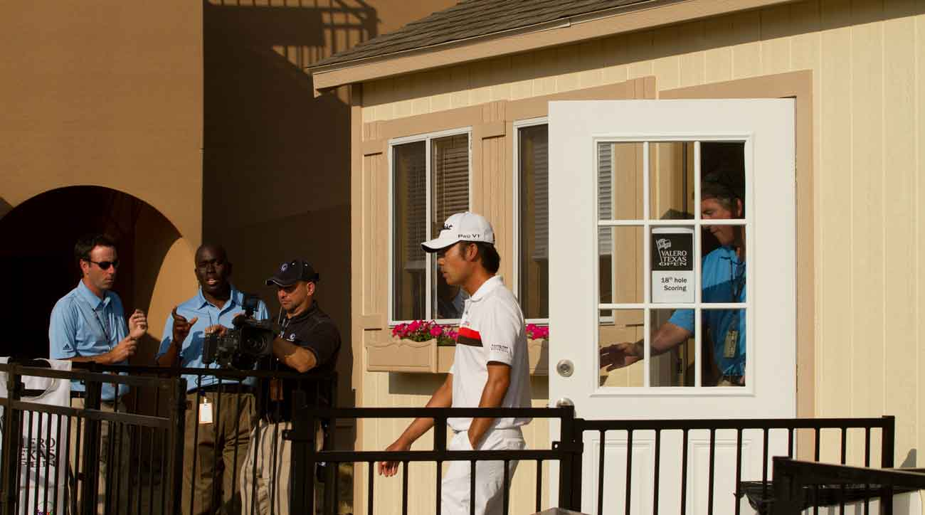 How Kevin Na made a 16 at the Texas Open and laughs to tell about it