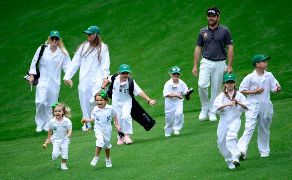 Until 2019, most of the uniforms worn by children at Augusta National were all different.