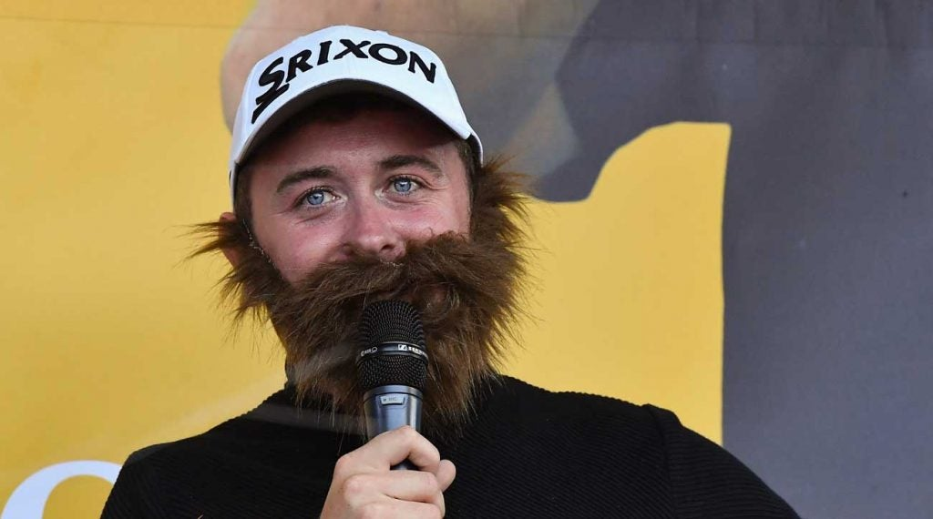 Conor Moore performing at Shane Lowry's hometown celebration of his Open Championship victory.