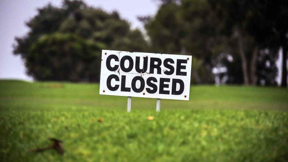 Golf courses coronavirus
