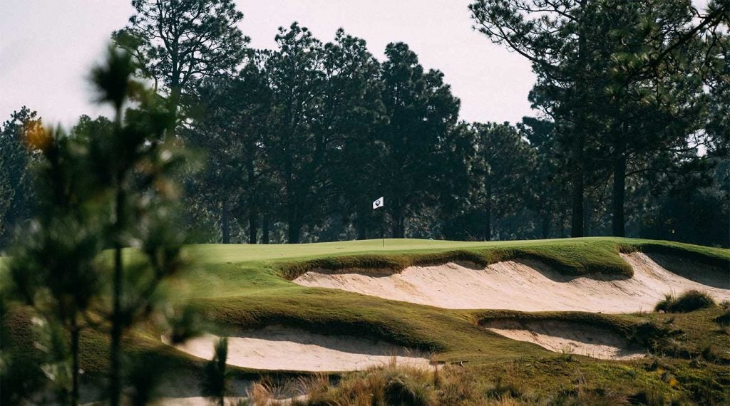 A view of Pinehurst No. 4.