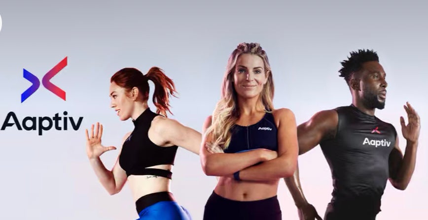 The Aaptiv app offers access to boutique-style fitness classes right from your living room.