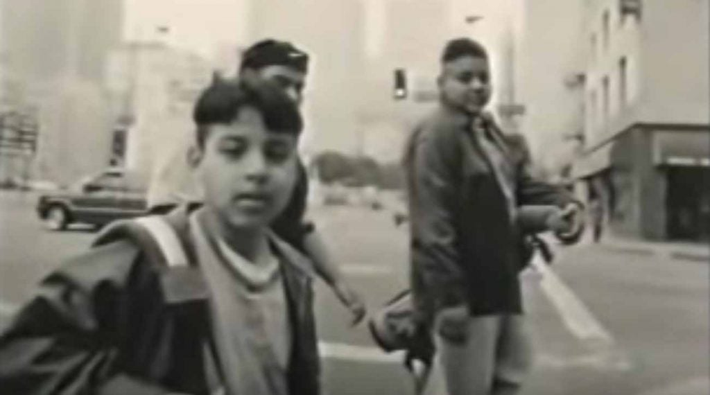 In the '90s, even the idea of kids of diverse backgrounds playing golf in a cityscape was somewhat subversive.