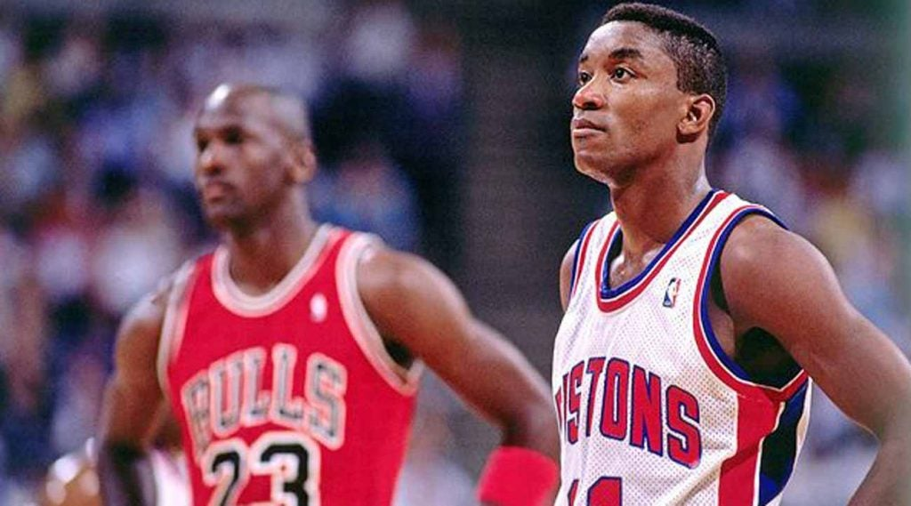 As with any good golf analysis, Isiah Thomas and Michael Jordan are involved.
