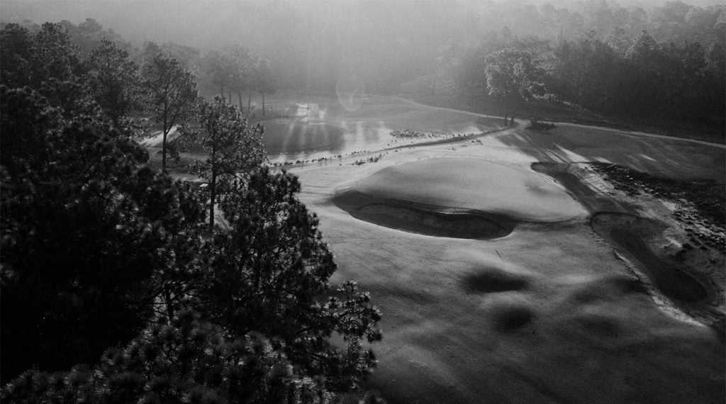 Pinehurst No. 2 first opened in 1907.