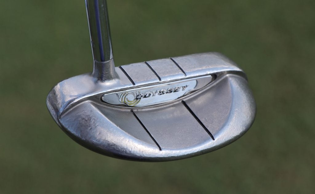 Brandt Snedeker's Odyssey White Hot XG Rossie putter has been with him through thick and thin.