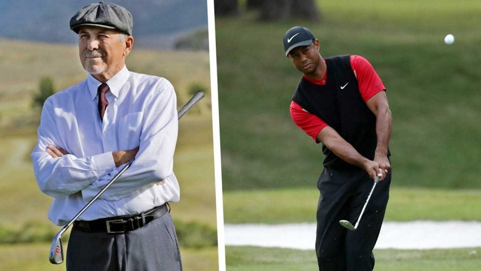 Tiger Woods first coach