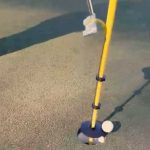 This genius invention promotes safe social distancing on the golf course
