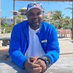 Elie Petitphait, The Abaco Club's beach supervisor, returned to work three months after sustaining life-threatening injuring from Hurricane Dorian.