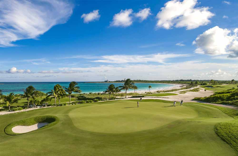 The Abaco Club on Winding Bay re-opened for business on Oct. 28.