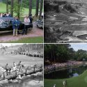 Four Augusta National Golf Club photos