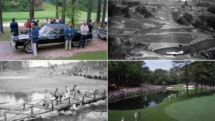 Four Augusta National Golf Club photos