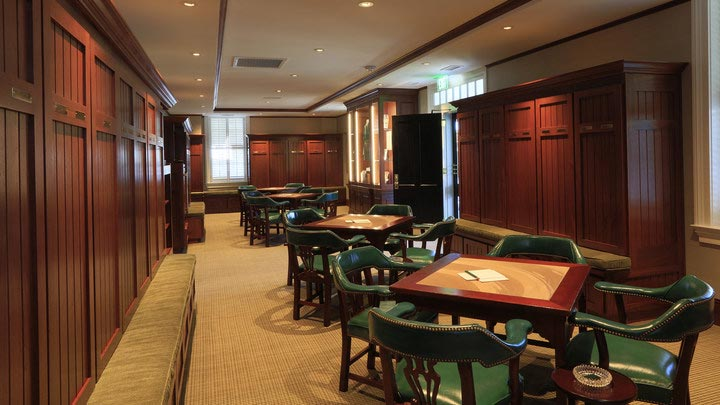 The Champions Locker Room was renovated prior to the 2016 Masters.