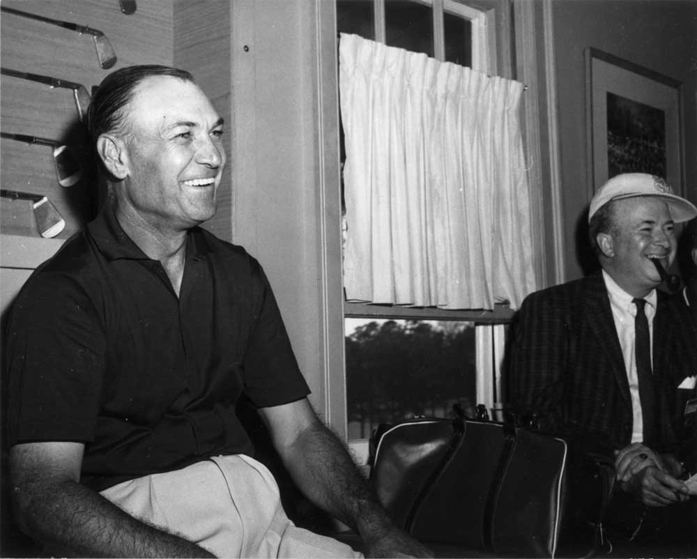 Ben Hogan at the Masters in the 1950s.