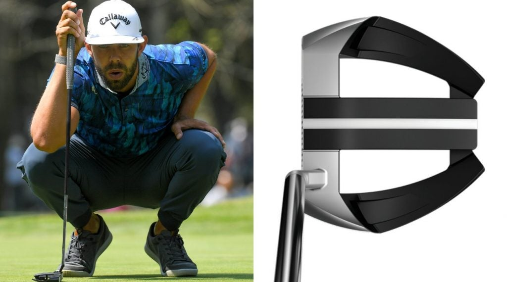 The Odyssey Marksman putter has become an integral part of Erik van Rooyen's game around the greens.