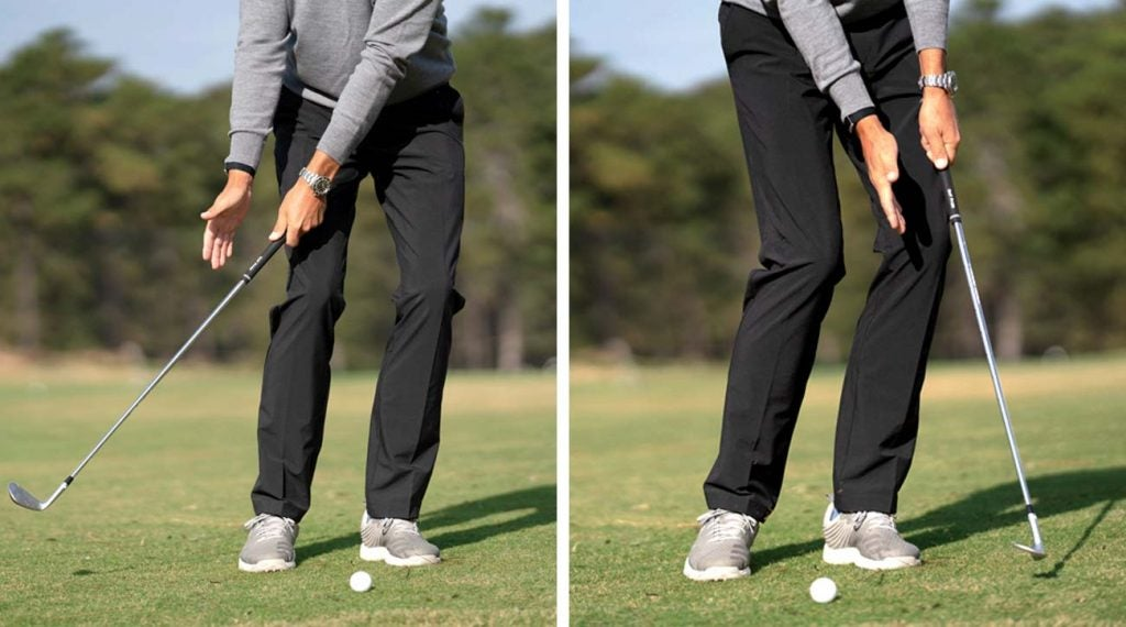 This is a simple drill for your short game.