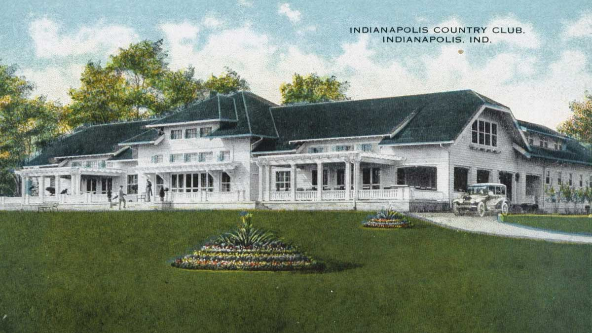 A postcard of Indianapolis Country Club.