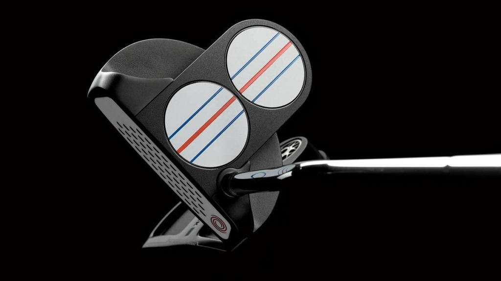 Odyssey Triple Track putters.