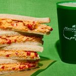 Augusta National's legendary pimento cheese sandwich.