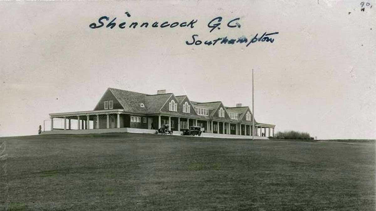 A postcard of Shinnecock Hills.