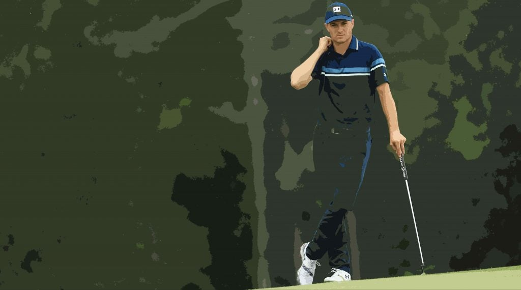 After months of searching for his game, Spieth could take solace in rediscovering the magic at Augusta National.