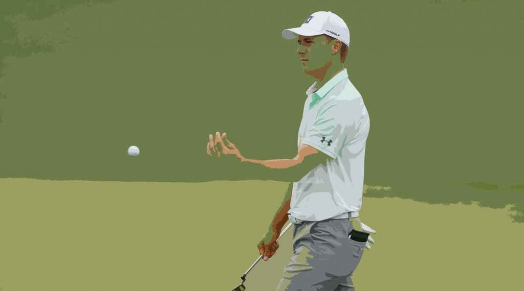 Jordan Spieth will join Rory McIlroy on Monday at Augusta National to decide the 84th Masters.