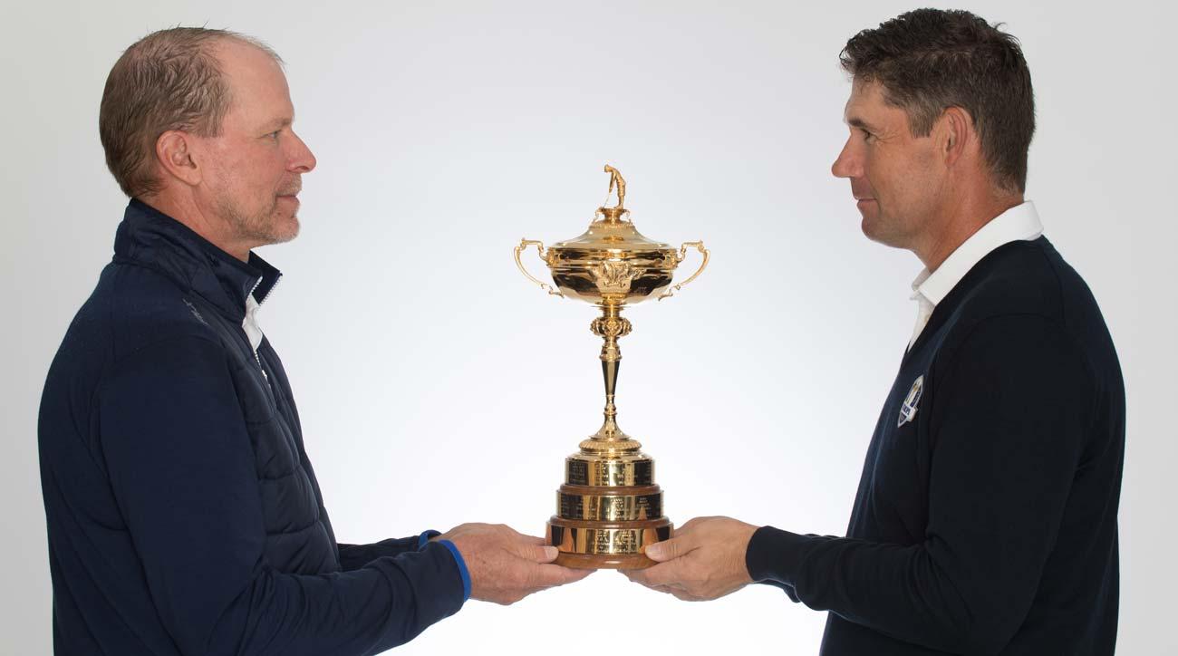 Steve Stricker et Padraig Harrington détiennent la Ryder Cup.