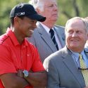 tiger and jack share a laugh