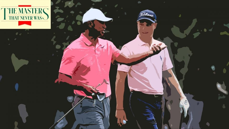 tiger woods and justin thomas