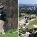 Right: Tom Brady; Left: Seminole Golf Club