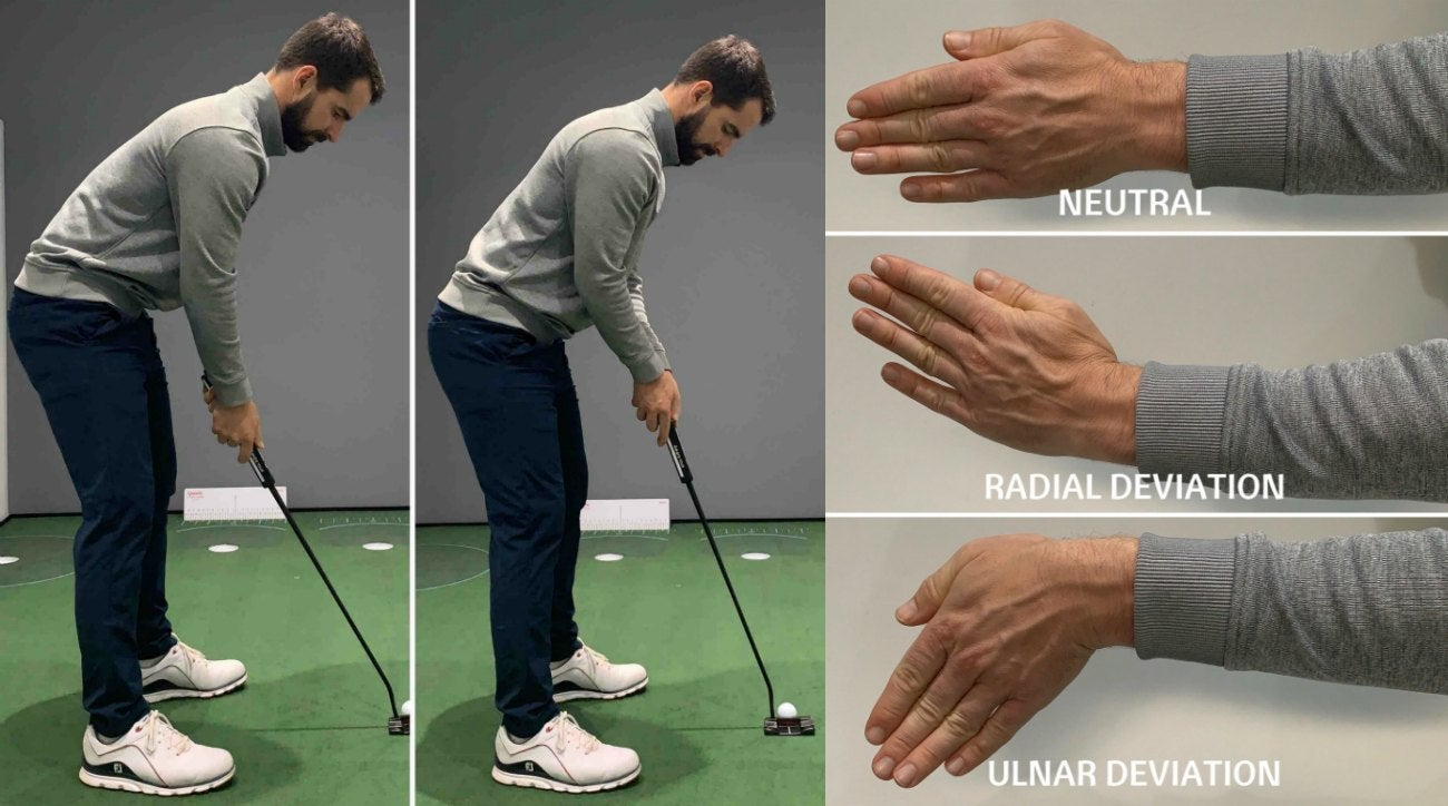 How 'ulnar deviation' can stabilize your wrists and improve your putting