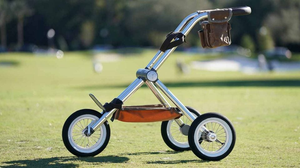 The Walker Trolley Cape pushcart.