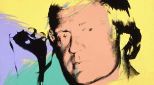 Andy Warhol painting of Jack Nicklaus