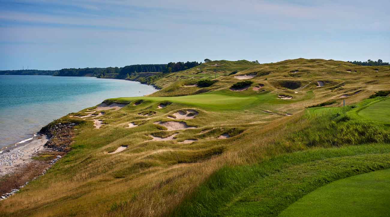 3rd hole at Whistling Straits