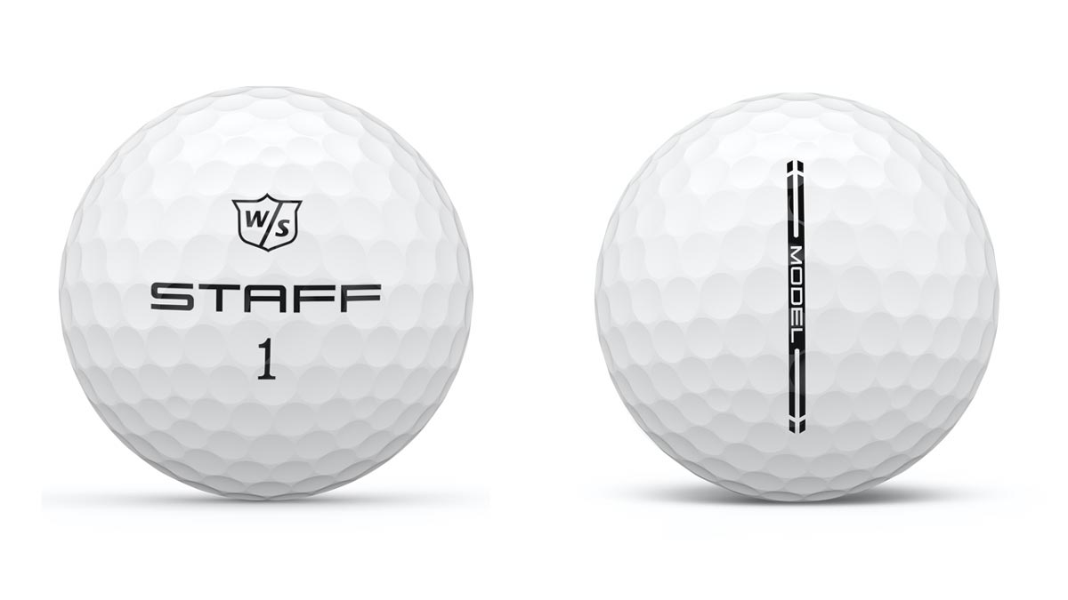 wilson staff model golf ball