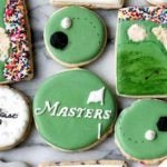 The golf-inspired cookies from The Modern Cookie.