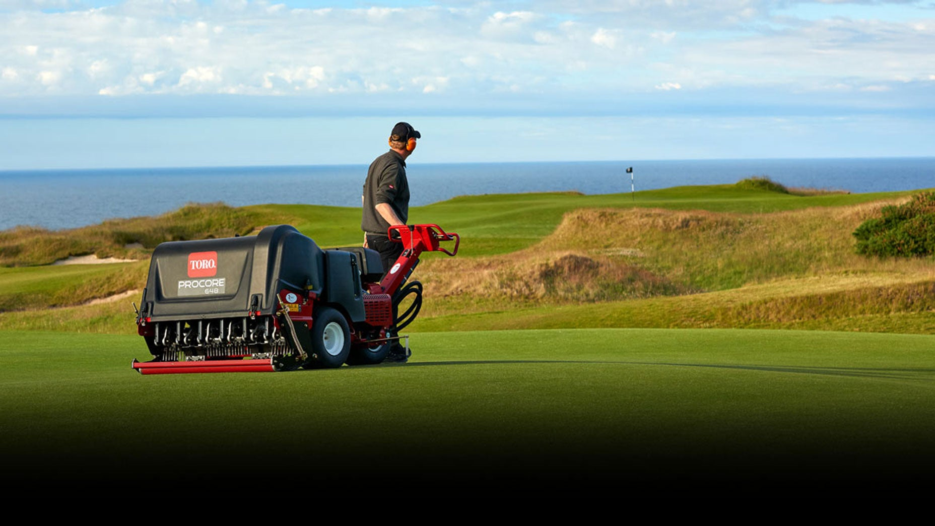 toro golf course aerator