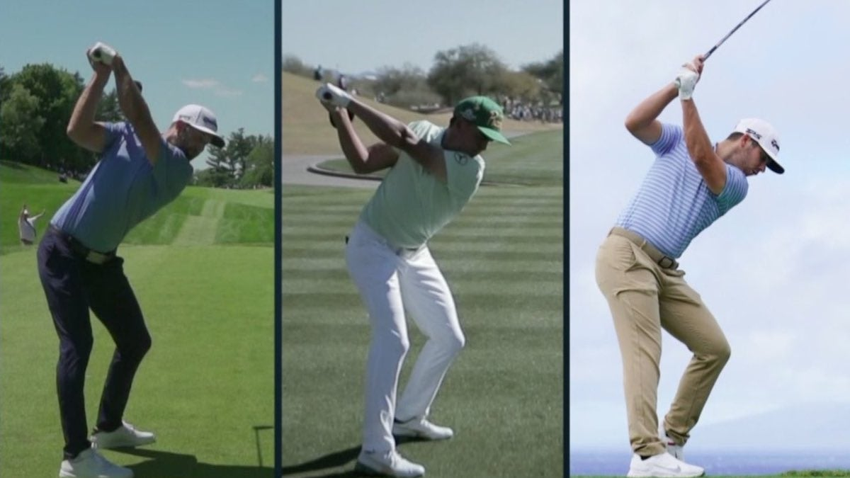 What you can learn from this side-by-side of Rory, DJ, Rickie and Wolff