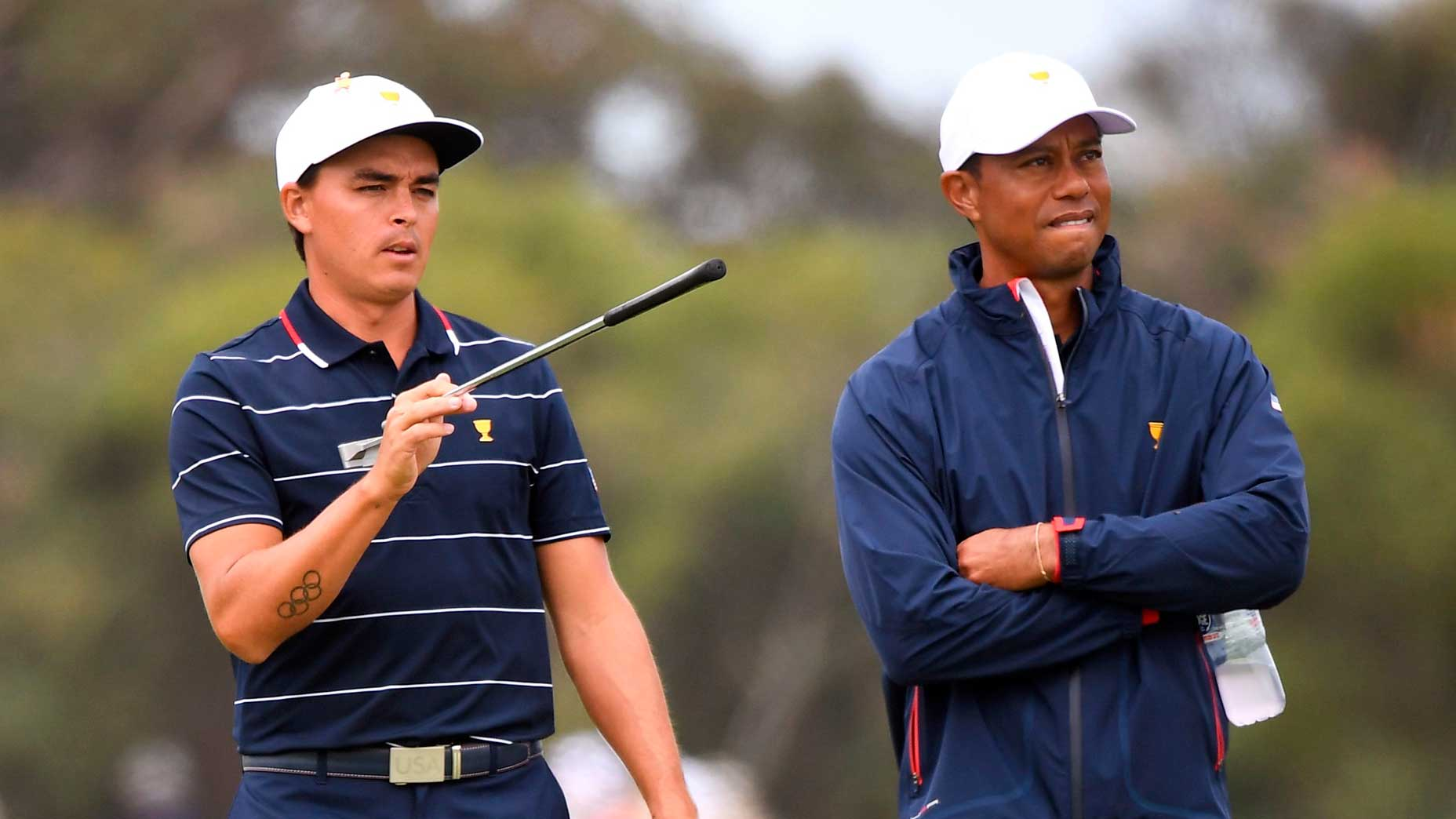 rickie fowler tiger woods