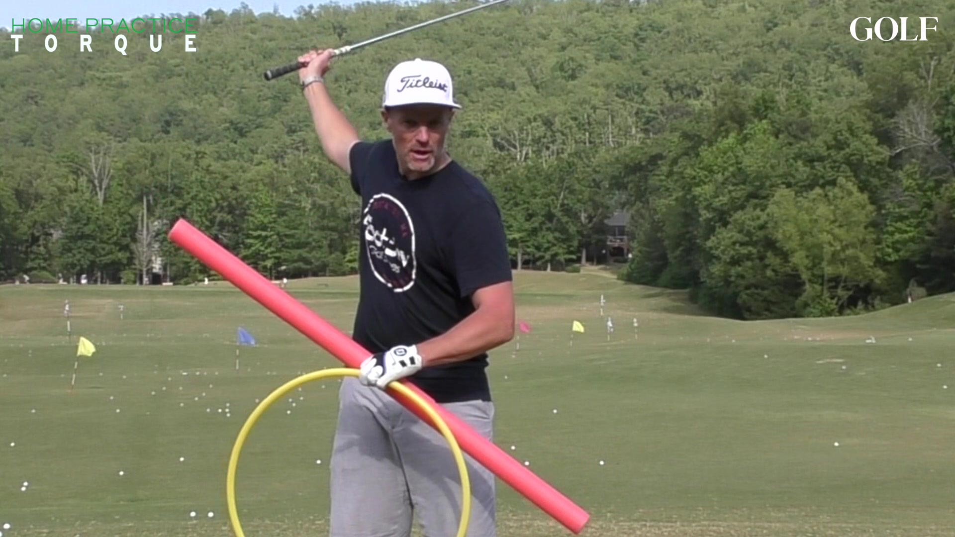What's the best way to produce more torque in your golf swing?