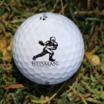 Johnny Manziel's Heisman golf balls.