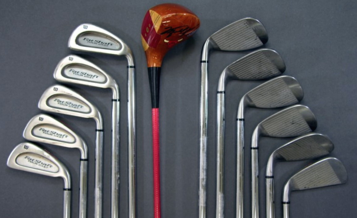 Michael Jordan S Custom Golf Gear From The 1990 S Now Available At Auction