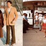 On the left, mother and son, 1978, Patchogue, N.Y. Right photo: Dorothy Bamberger, here in 1981, loved boats, particularly the Queen Mary, which brought her to New York in 1938.